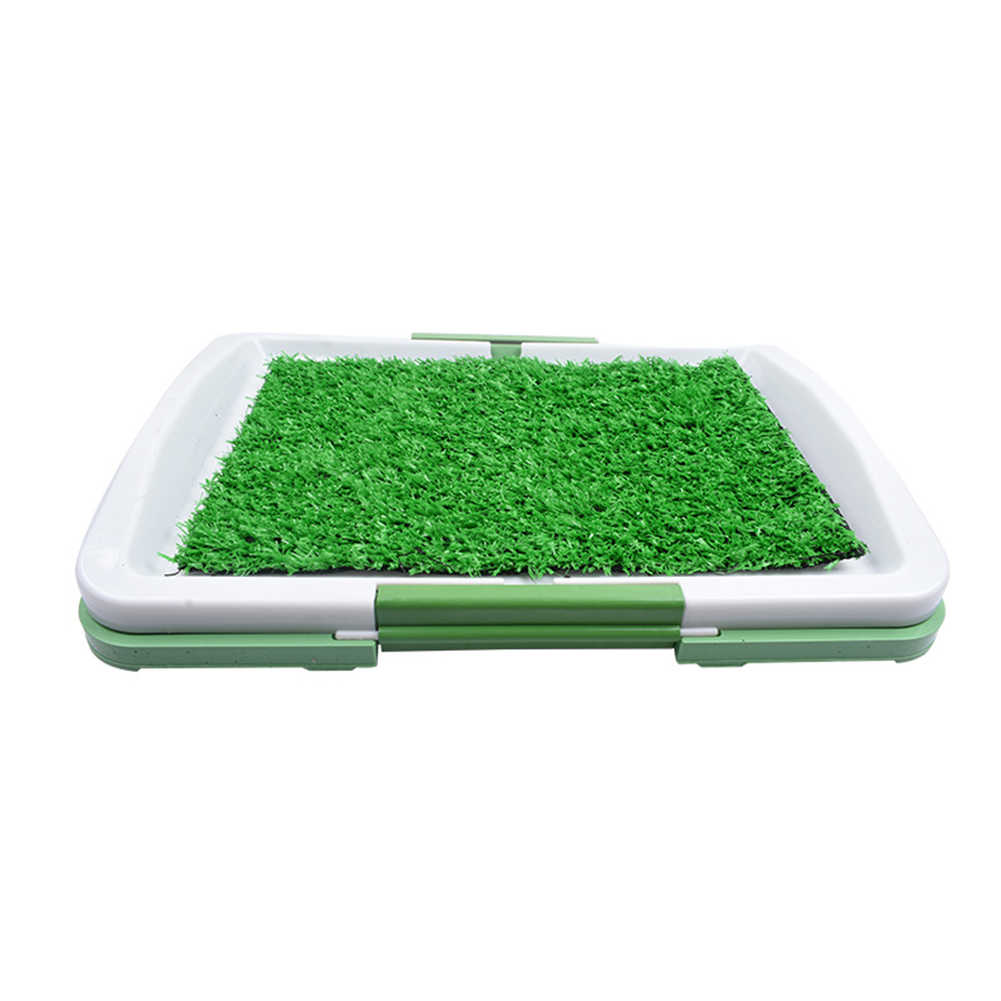 Pet Pee Pad Mat Simulation Lawn Toilet for Indoor Potty Training 46*32cm