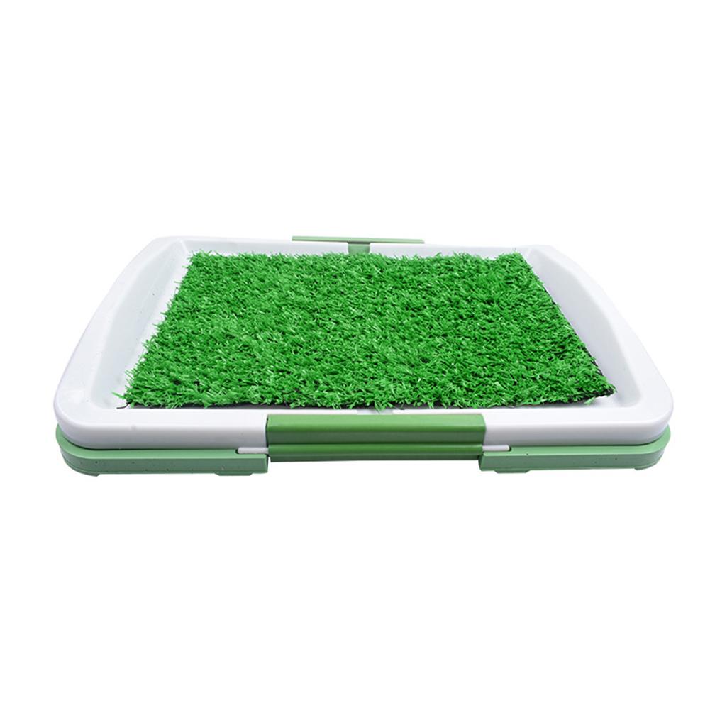 Pet Pee Pad Mat Simulation Lawn Toilet for Indoor Potty Training 46*32cm