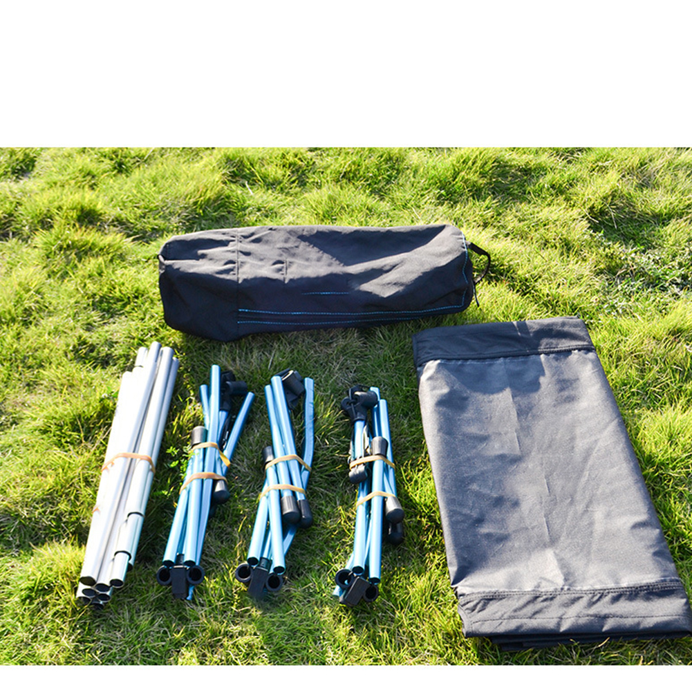 Outdoor Camping Bed Sturdy Comfortable Portable Folding Tent Cot 120 kg Camping Foldable Bed 190x65x38CM