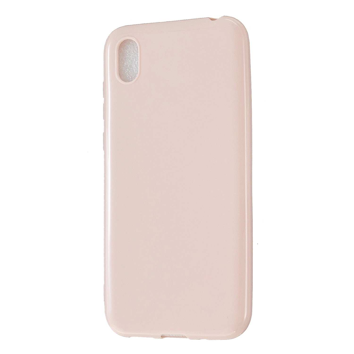 For HUAWEI Y5 2018/2019 TPU Phone Case Simple Profile Delicate Finish Cellphone Cover Full Body Protection Sakura pink
