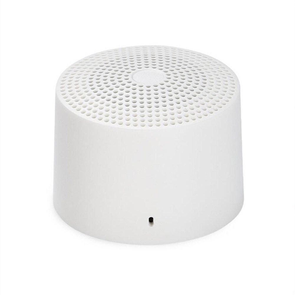 Portable Mini Wireless Bluetooth Voice Control Speaker  white