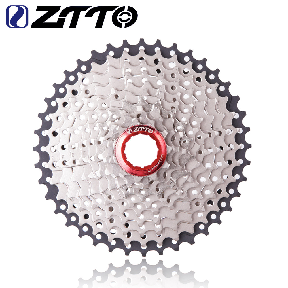 ZTTO 11-42 T 10 Speeds Wide Ratio MTB Mountain Bike Bicycle Cassette Bicycle Flywheel 10S 11-42