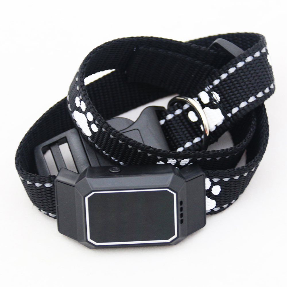 D35 Pet GPS GSM Tracker Dog Cat Real-time Tracking Collar Security Finder Locator black