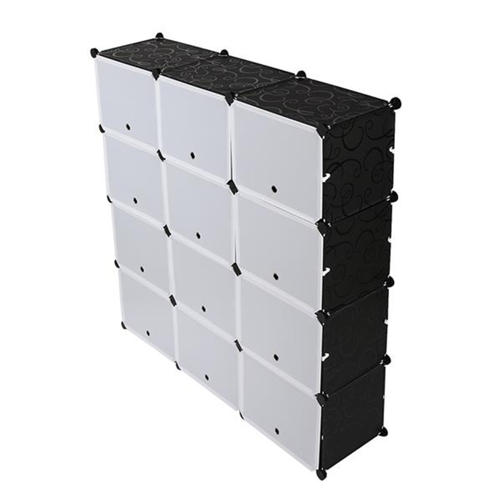 [US Direct] Portable Shoe  Rack Organizer 7 Tier Shelf Storage Cabinet Stand For Heels Boots Slippers 40*30*30 Pattern models
