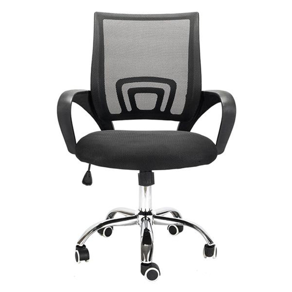 [US Direct] Home Office  Chair Ergonomic Desk Chair Mesh Computer Chair With Lumbar Support Armrest Executive Rolling Swivel Chair black