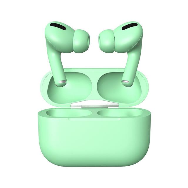 TWS Bluetooth Headset Pressure Sensor Earbuds Wireless Bluetooth Earphones Pk Mx Ap I900000 Pro Tws green