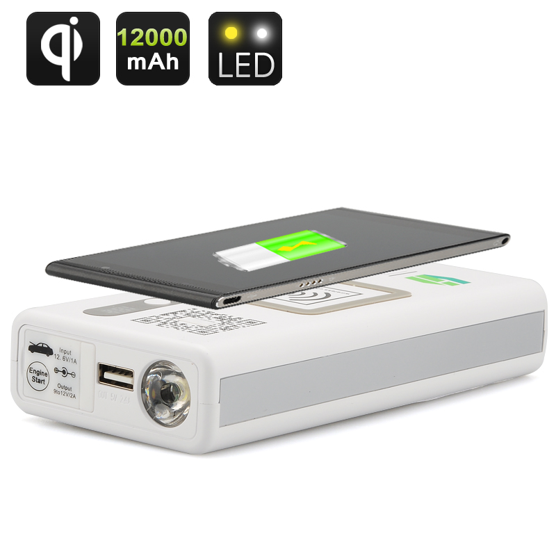 Multi-Functional Portable Power Bank