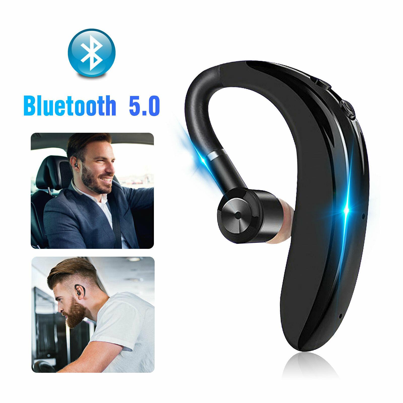 180 Hours Standby Wireless Bluetooth Hands Free Headset Stereo Headphone Earphone