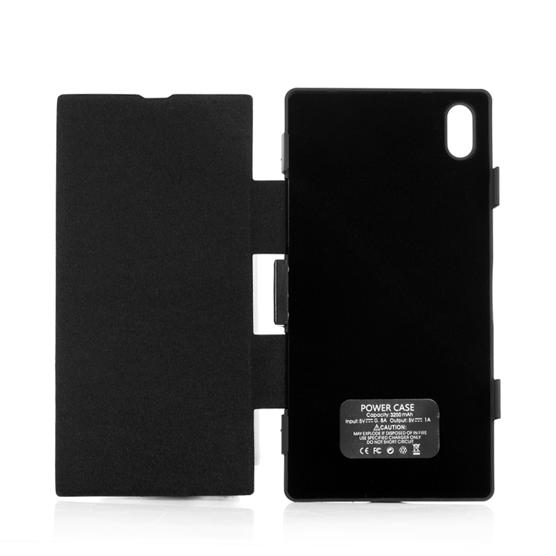 3200mAh Battery Flip Case For Sony Xperia Z1