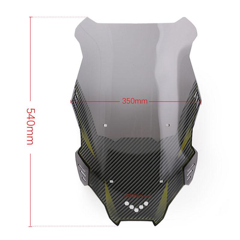 Motorcycle Windscreen Windshield Wind Screen Board Deflector Glass for honda X-ADV150 19-20 Smoke