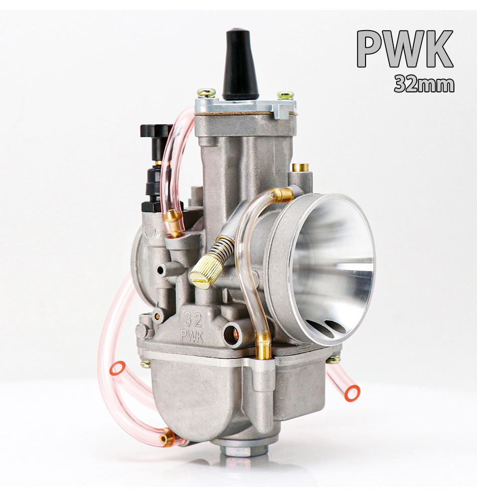 Motorcycle Carburetor PWK 21 24 26 28 30 32 34mm Carb For ATV Scooter Dirt Pit Bike 32mm