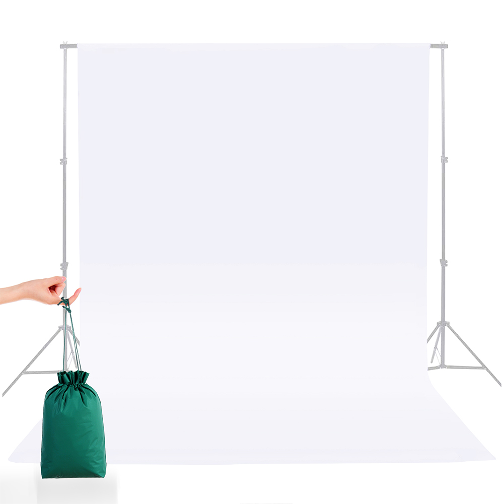 5*7FT/1.5M*2.15M  Square Cloth Nylon Green Background  Cloth For Photography Live Background white