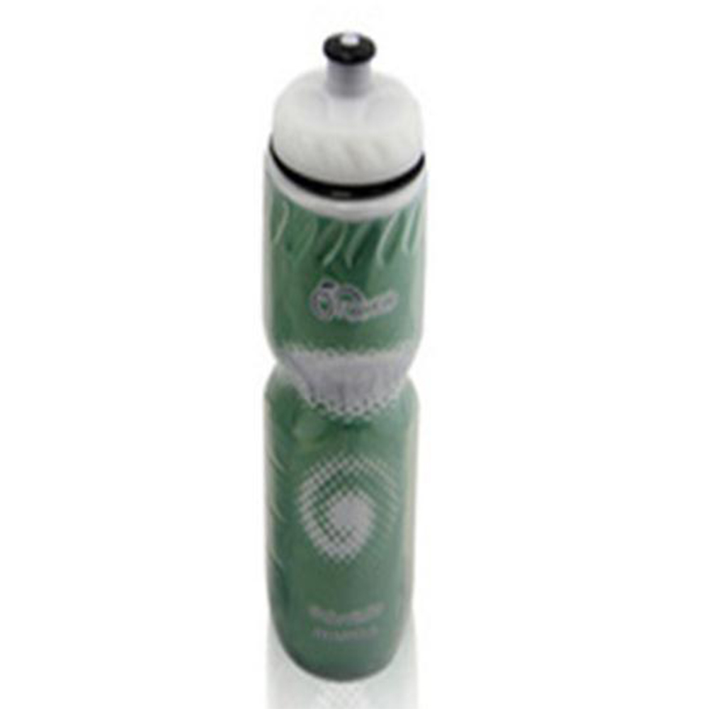Double Layer Portable Water Bottles Green