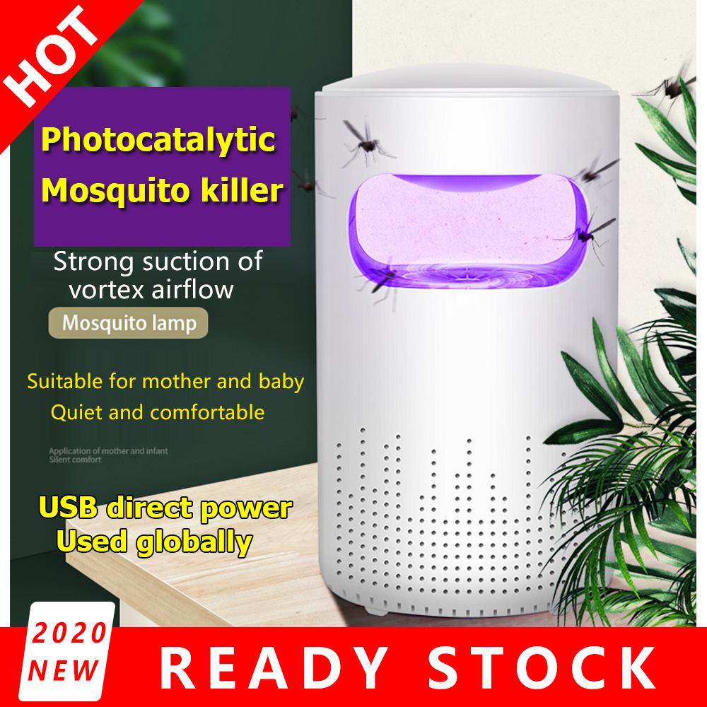 High-efficiency Mosquito Killer Lamp Light Home Use White USB 10.5*20cm white