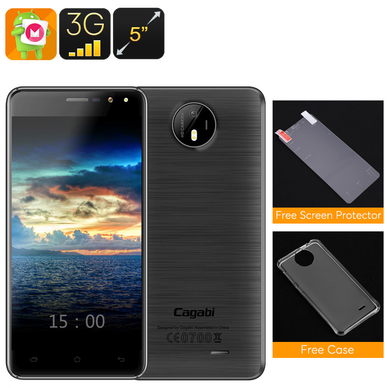 Cagabi One Android Smartphone (Black)