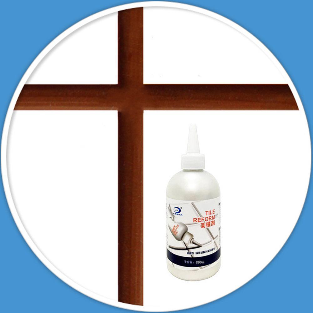 280ml Waterproof Tile Crack Beauty Grout Sealant Aide Repair Seam Filling Reform Wall Glue Brown