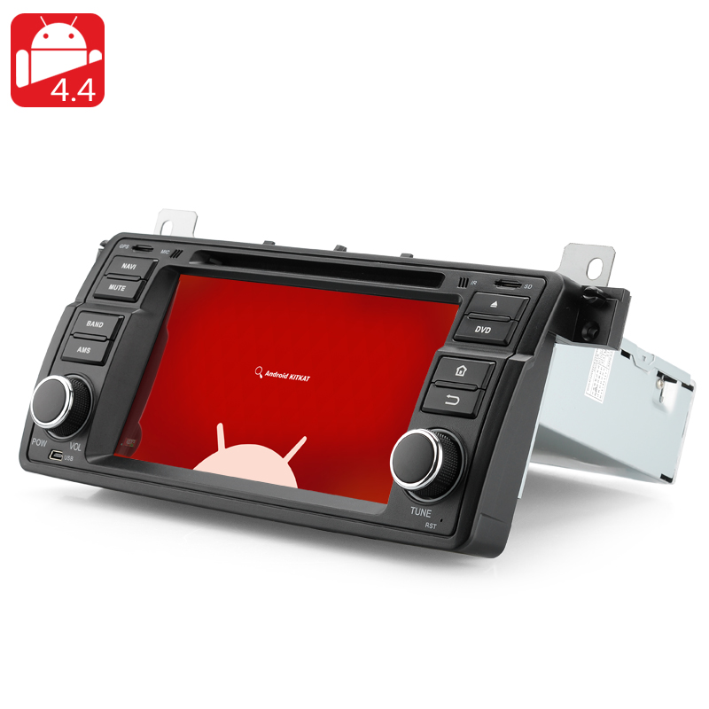 1 DIN Android 4.4 Car DVD Player for BMW E46