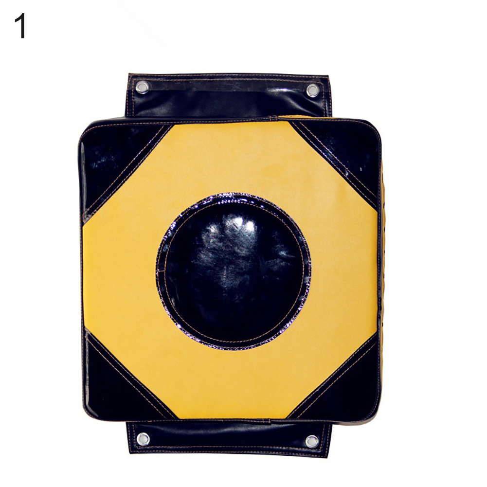 Wall Boxing Taekwondo Foot Target Practice Boxing Sandbag Wall Target  40 * 40 * 10 center black