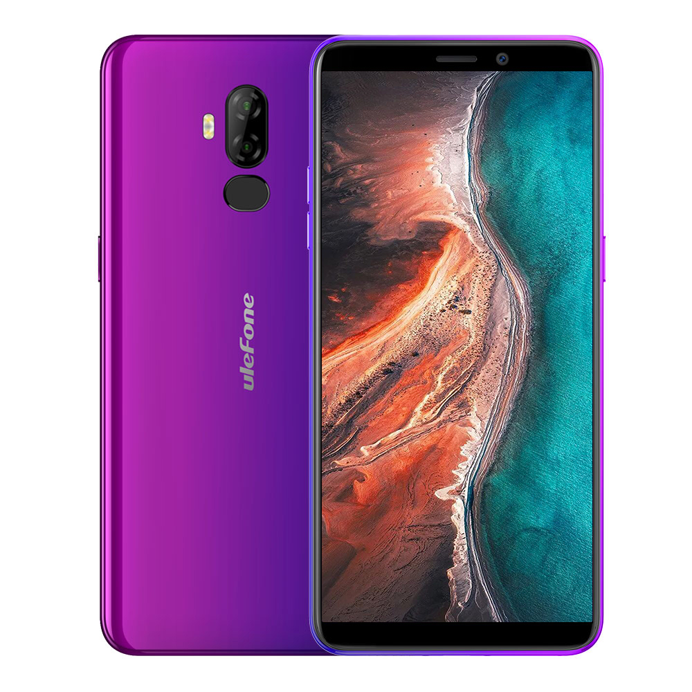 Original ULEFONE P6000 Plus 3+32GB Purple EU Plug