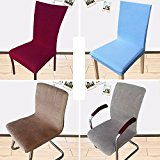 CYNDIE Hot Sale New Soft Chair Covers Hotel Restaurant Working Wedding Party Decorations Slipcover Coffee Long Chair