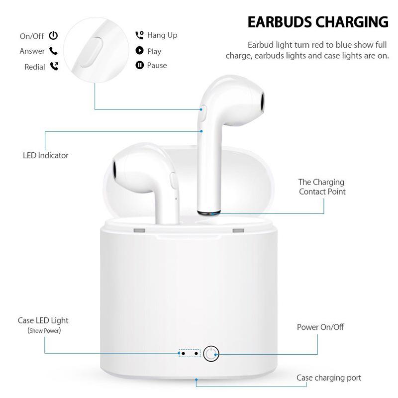 I7S Tws Wireless Bluetooth Headset