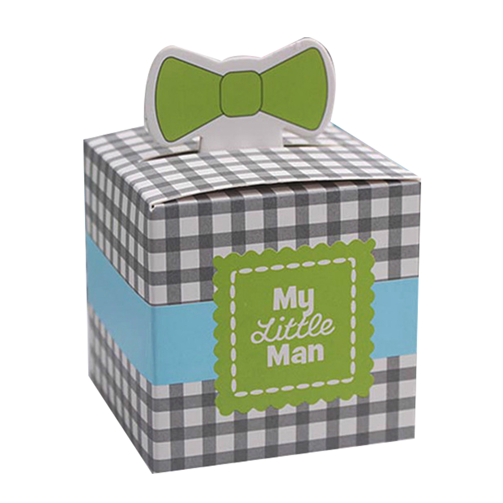 10PCs Wedding Bow-tie Candy Box  Birthday Shower Party Candy Boxes