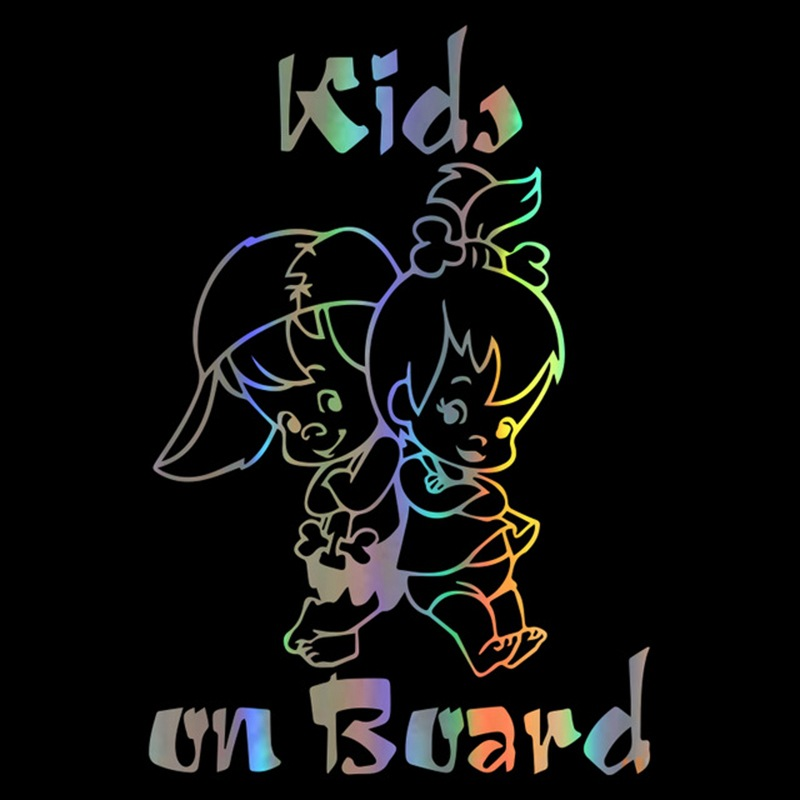 Colorful Baby on Board Fashion Car Styling Sticker Decals  Colorful