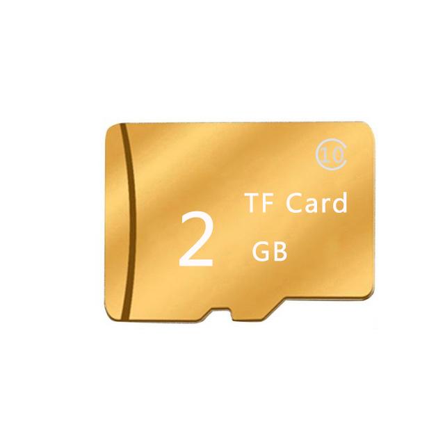 Golden Memory Card TF Card Temperature Resistance Anti-shock Memory Card