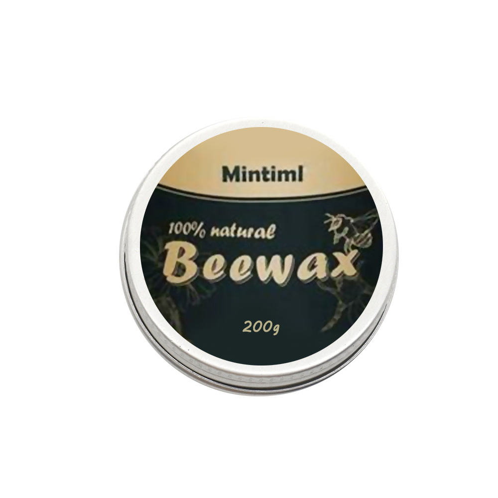 Natural Furniture Polishing Wear-resistant Beeswax Home Renovation Furniture Care Min Standard Furniture Polished Beeswax 200g