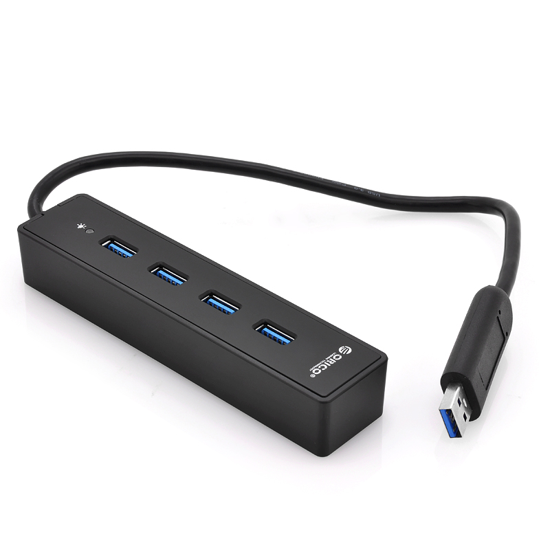 x4 Port USB 3.0 Hub - Orico W8PH4 (B)