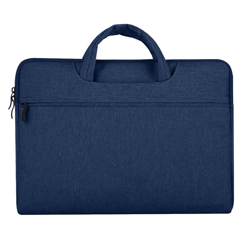 Portable Storage Bag Oxford Cloth Laptop Bag Waterproof Protective Storage Bag Navy_13.3 inches