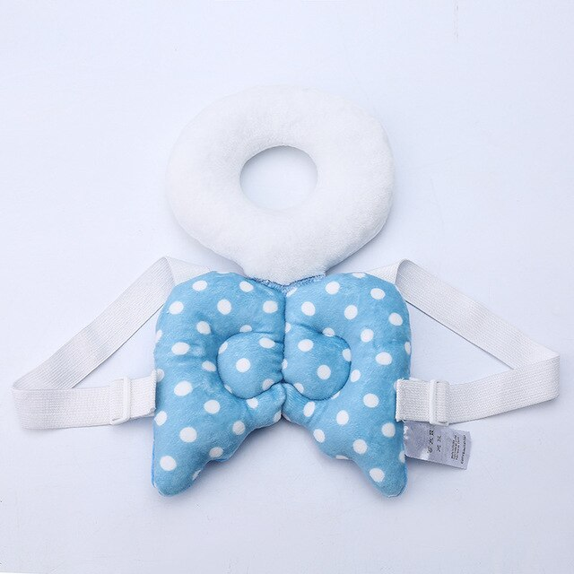 Kids Plush Toy Anti Wrestling Pillow Protect Head and Baby's back Angel wings/ladybugs/bees shape Let baby play independently