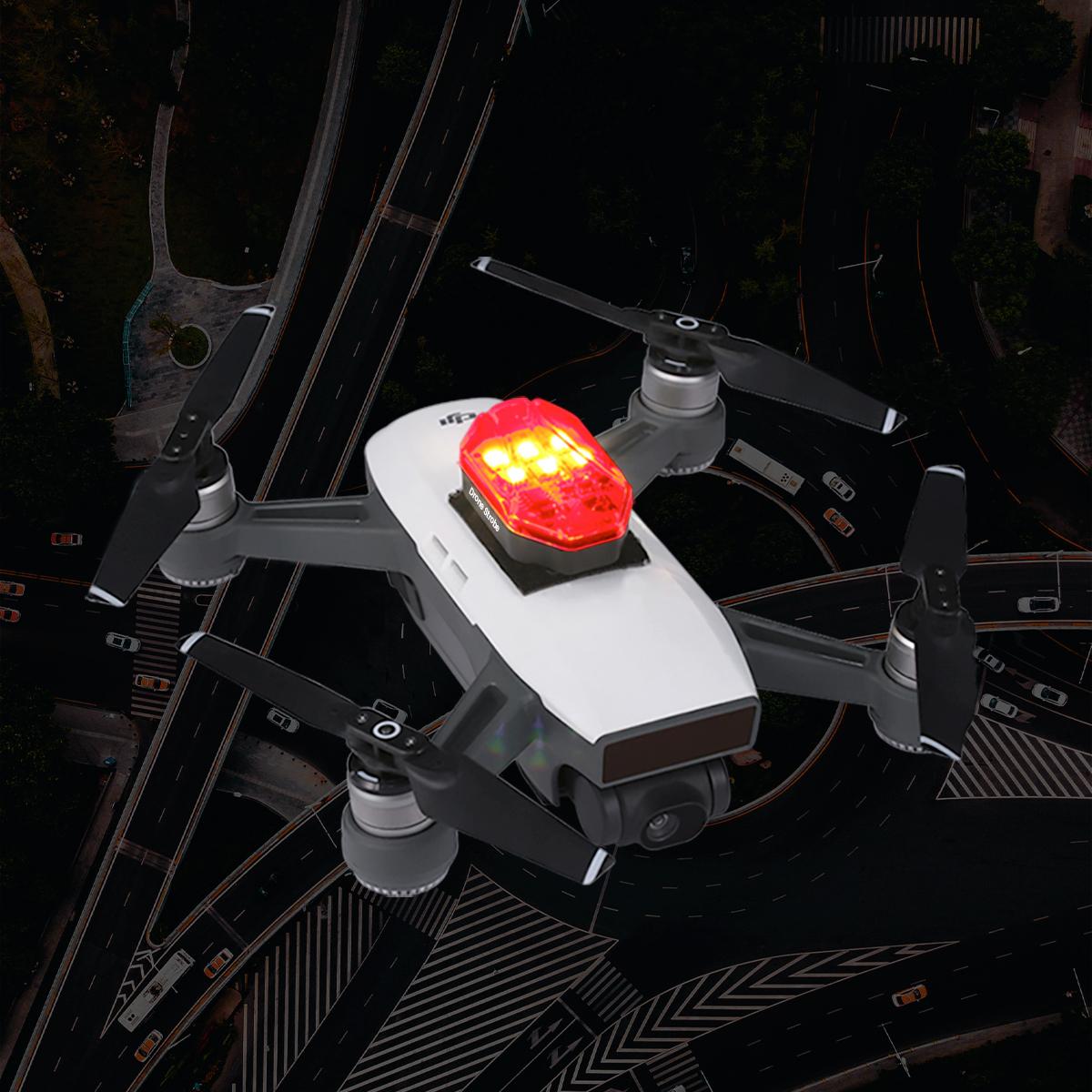 Strobe Light Flight Searching Night Navigation for Ulanzi DR-01RGB Dji MAVIC Mini Mavic Air 2 Drone default