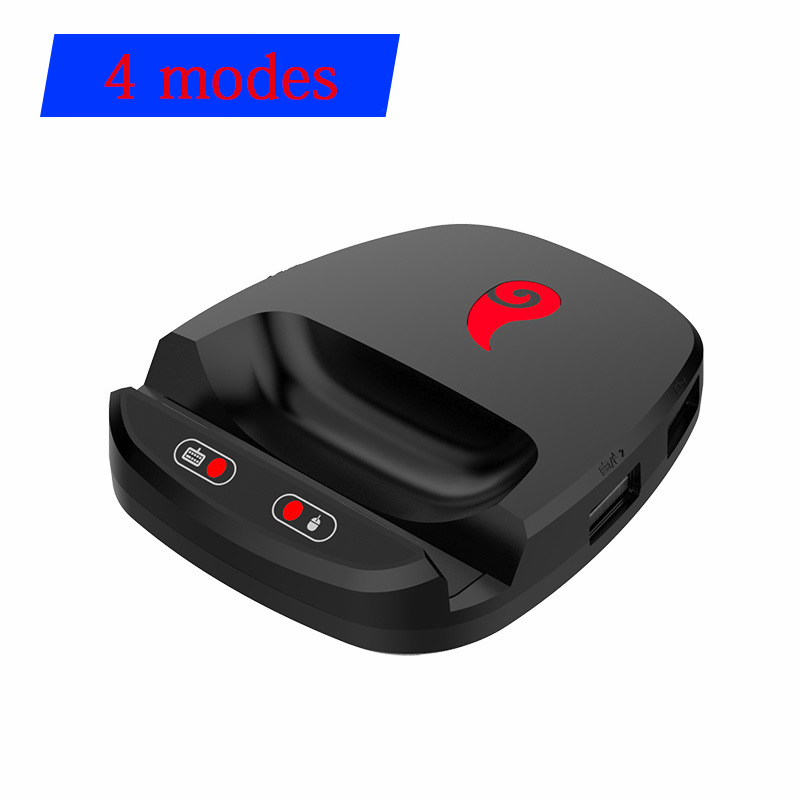 Game Adapter With 4 Modes - Wired Bluetooth Playing PUBG, Call Of Duty converter