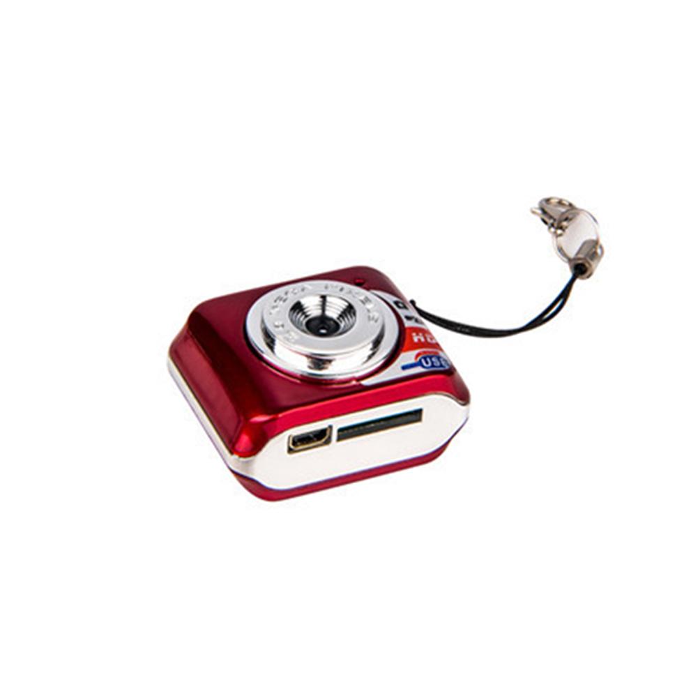 Mini Portable HD 720P Digital Video Camera DVR Recorder red