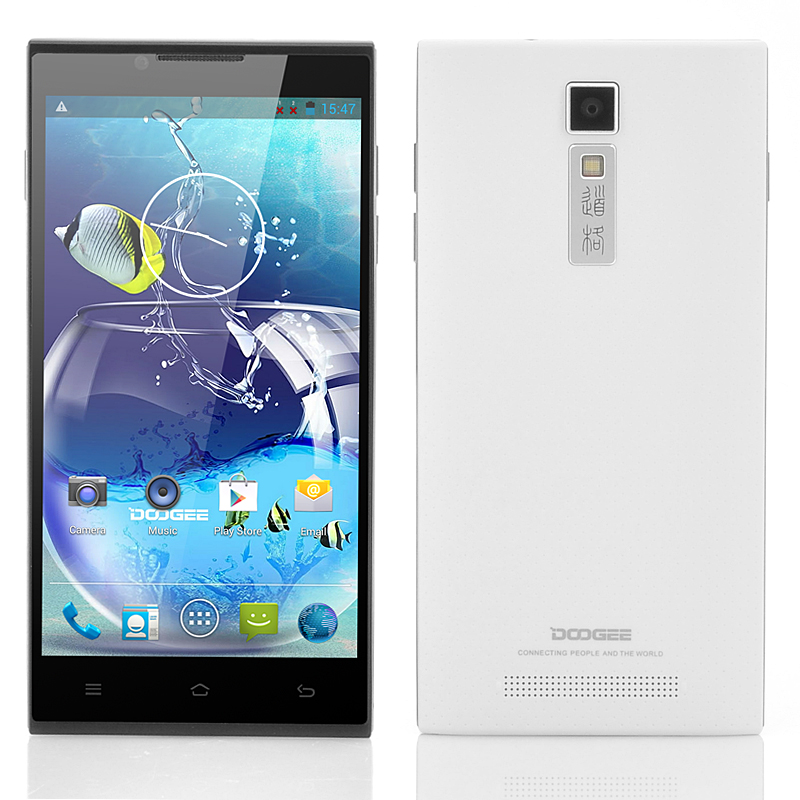 DOOGEE DG2014 Quad Core Android Phone (White)