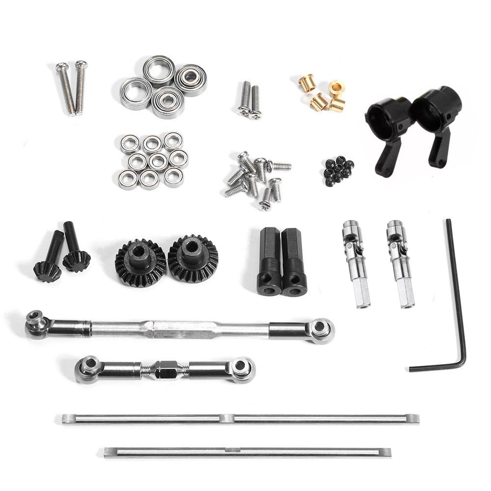 WPL Black Gear Metal OP Accessory for 1/16 4WD B1 B14 B24 C14 C24 C34 MN D90 91 96 99 99S RC Car Parts WPL