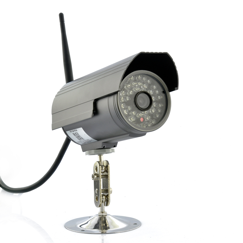Wireless Outdoor HD IP Camera w/ DVR