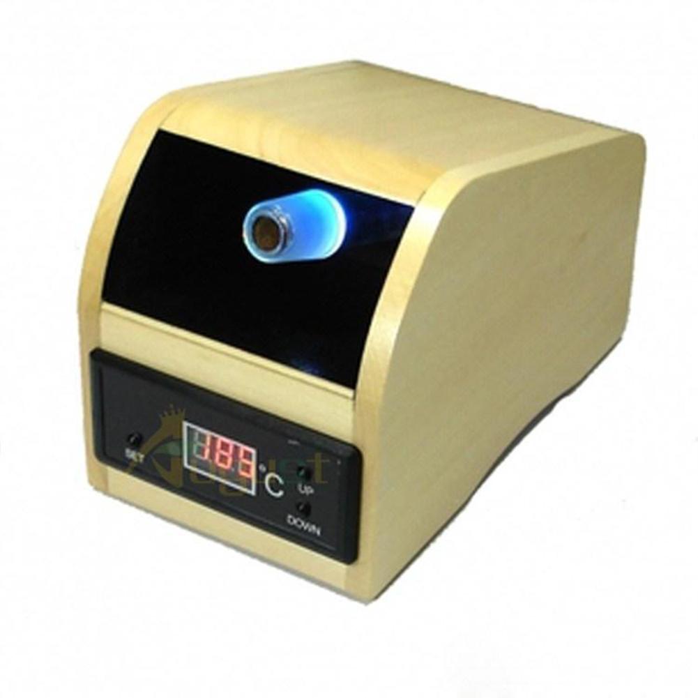 Fashion Home Digital Herbal Aromatherapy Vaporizer Wood color_U.S. regulation