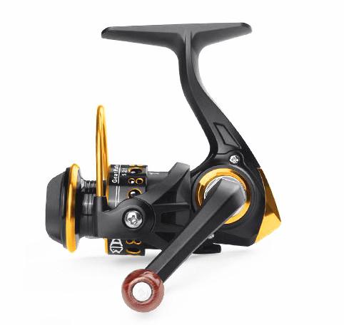 Mini Full Metal Head Fishing Wheel High Strength Fishing Reel FK150 gapless spinning wheel
