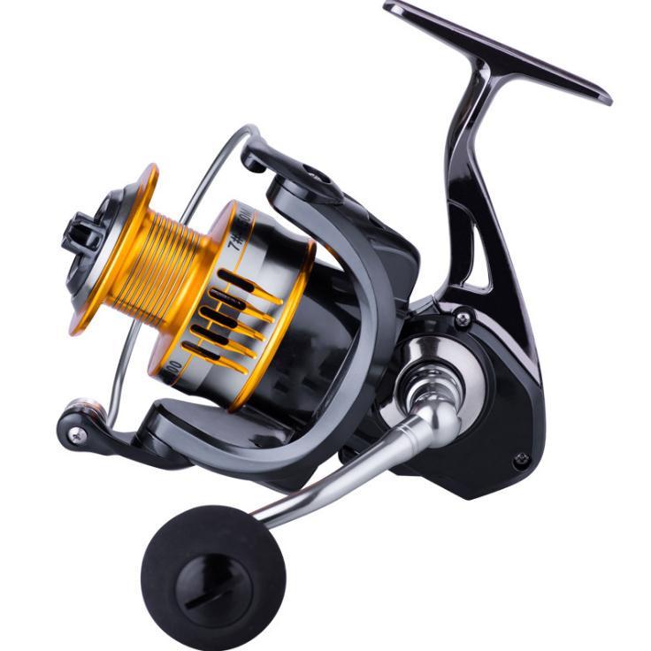 Advanced Metal Long Distance Spinning Fishing Wheel