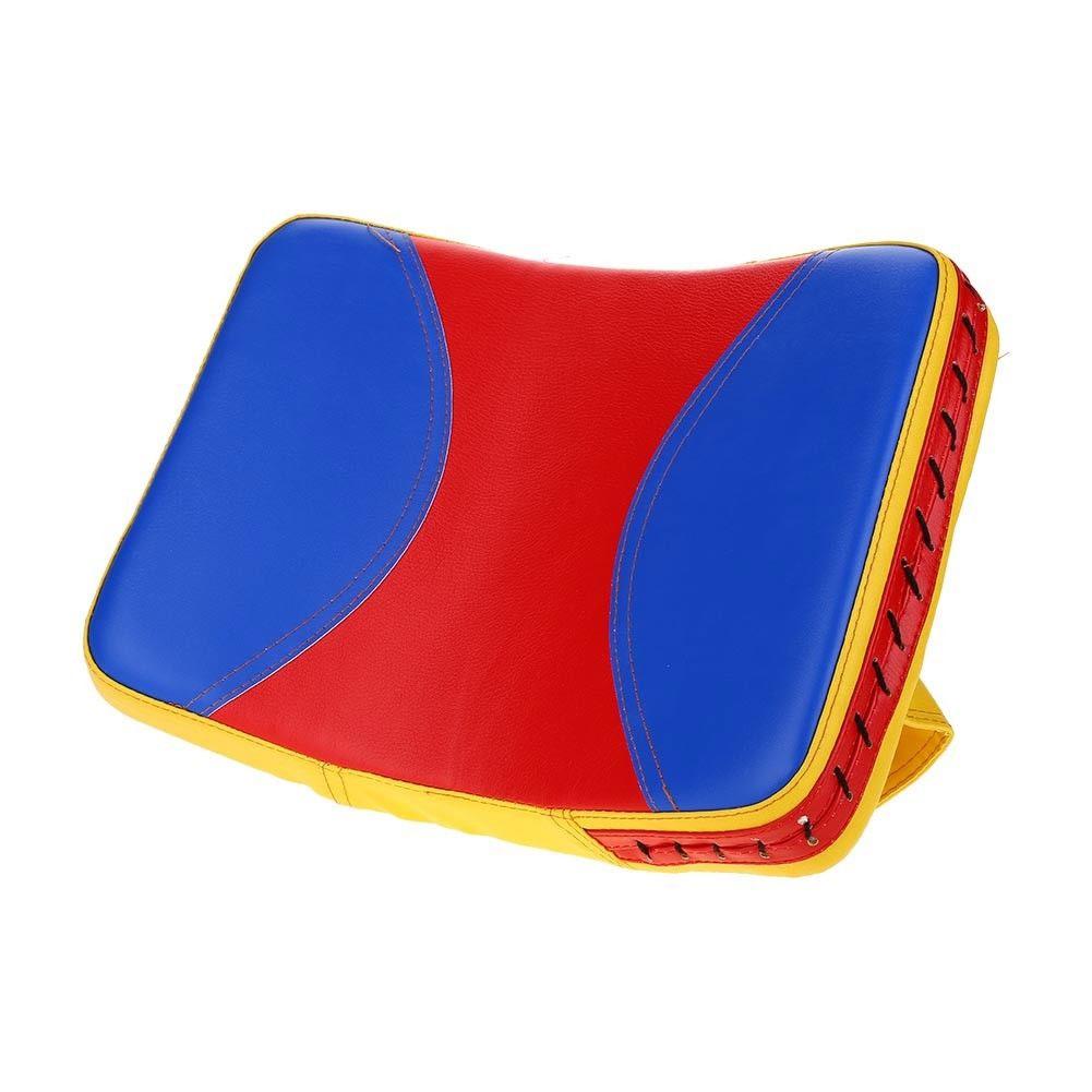 Taekwondo Target Kick Pad Boxing Muay Thai Punching Bag Karate Foot Punch Blue yellow red_38 * 25 * 5