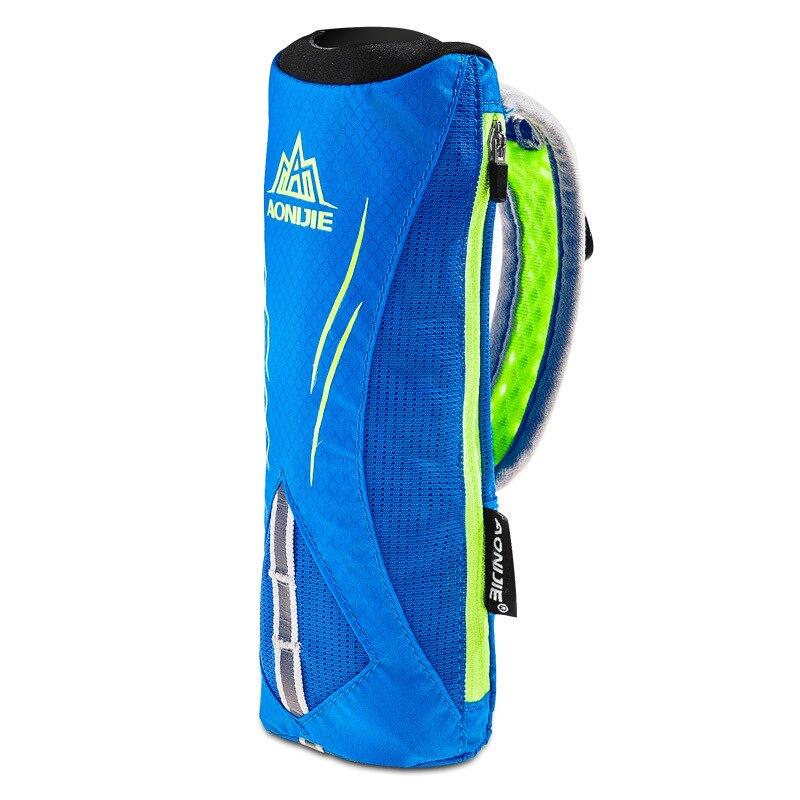 Multifunctional Portable Adjustable Strap Hand Water Bottle Holder Bag for Marathon Sports