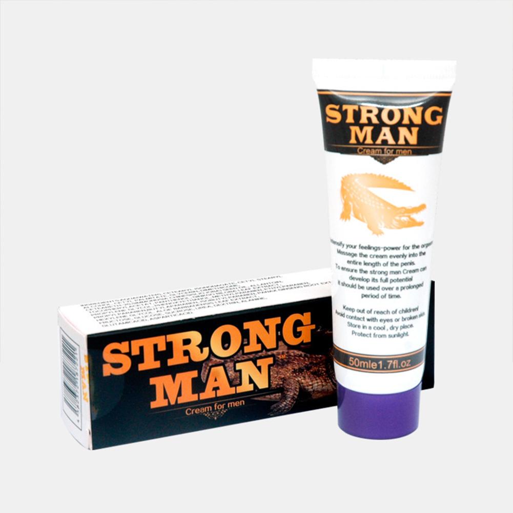 Men Ointment Strong Man Penis  Enlargement  Cream Male Penis Extender Erection Enhancer Cream 50ml