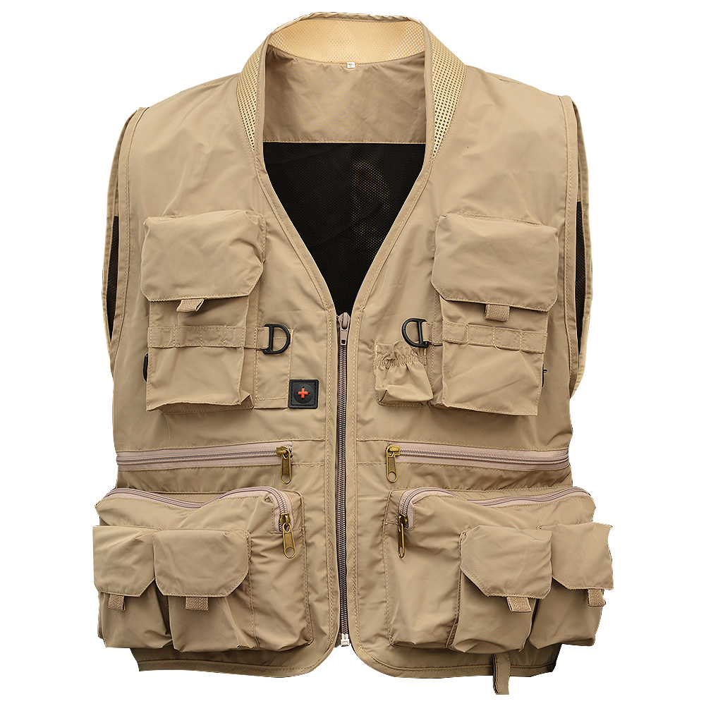 Men's Pockets Travels Fishing Vest