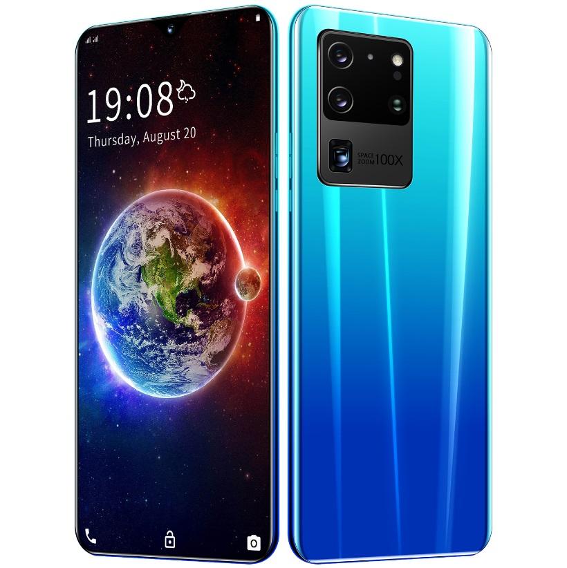 6.26 inch S20U Smartphone RAM1GB+ 8GB ROM Bluetooth 5.0 Android 5.1 HD720*1560 Screen Cellphone Light blue_British plug