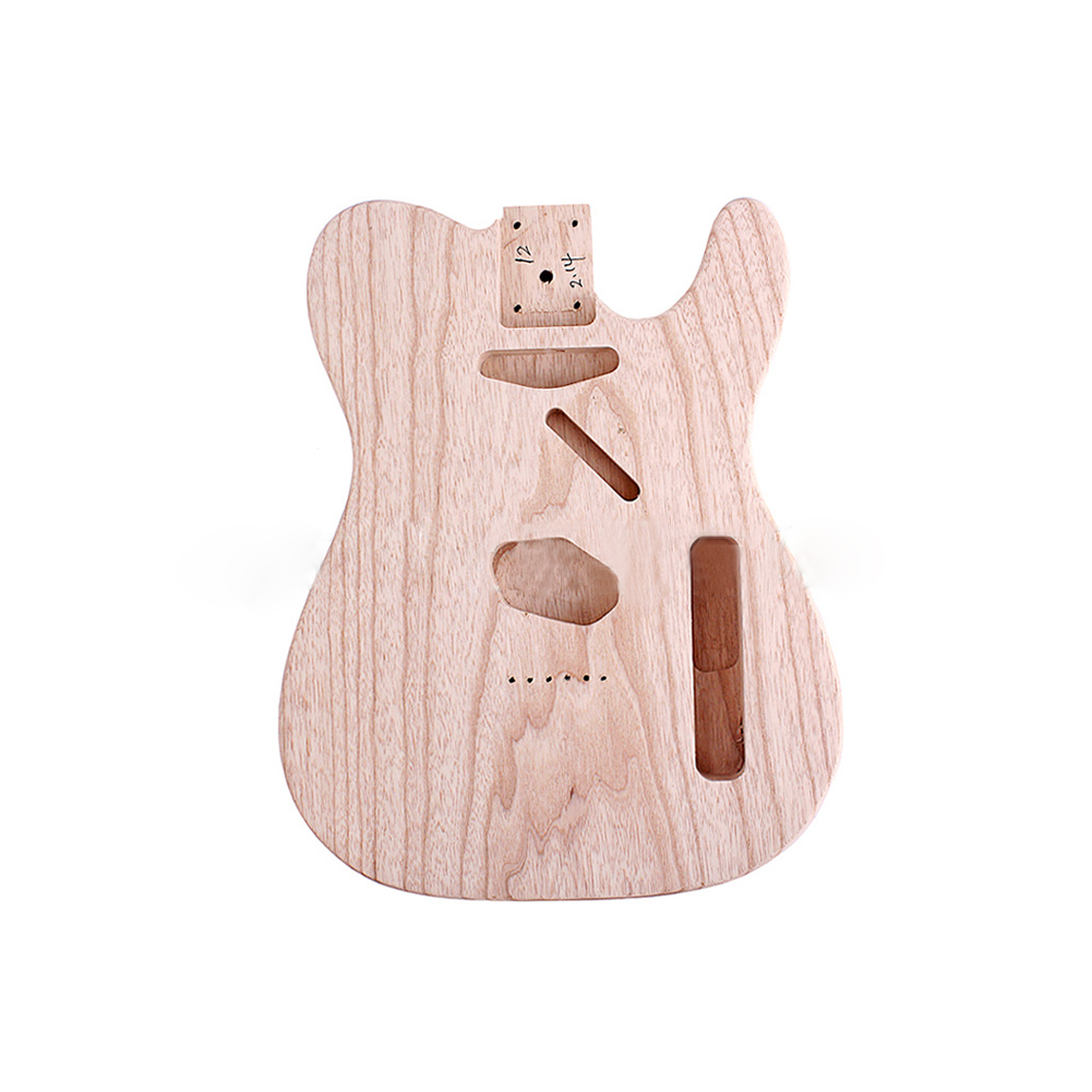Electric Guitar Body Ash for Tl Electric Guitar 51*39*8cm Wood color