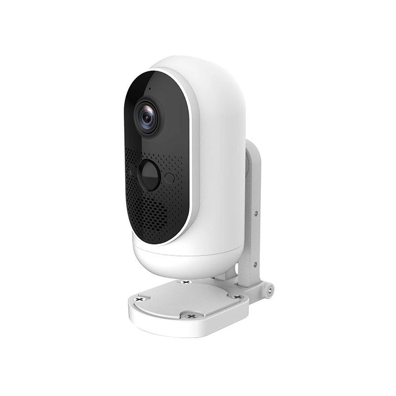 Security IP Camera Low Power Consumption 2 Million Pixels 1920 * 1080P Wireless Surveillance HD Night Vision Intelligent AI Surveillance white_A5W