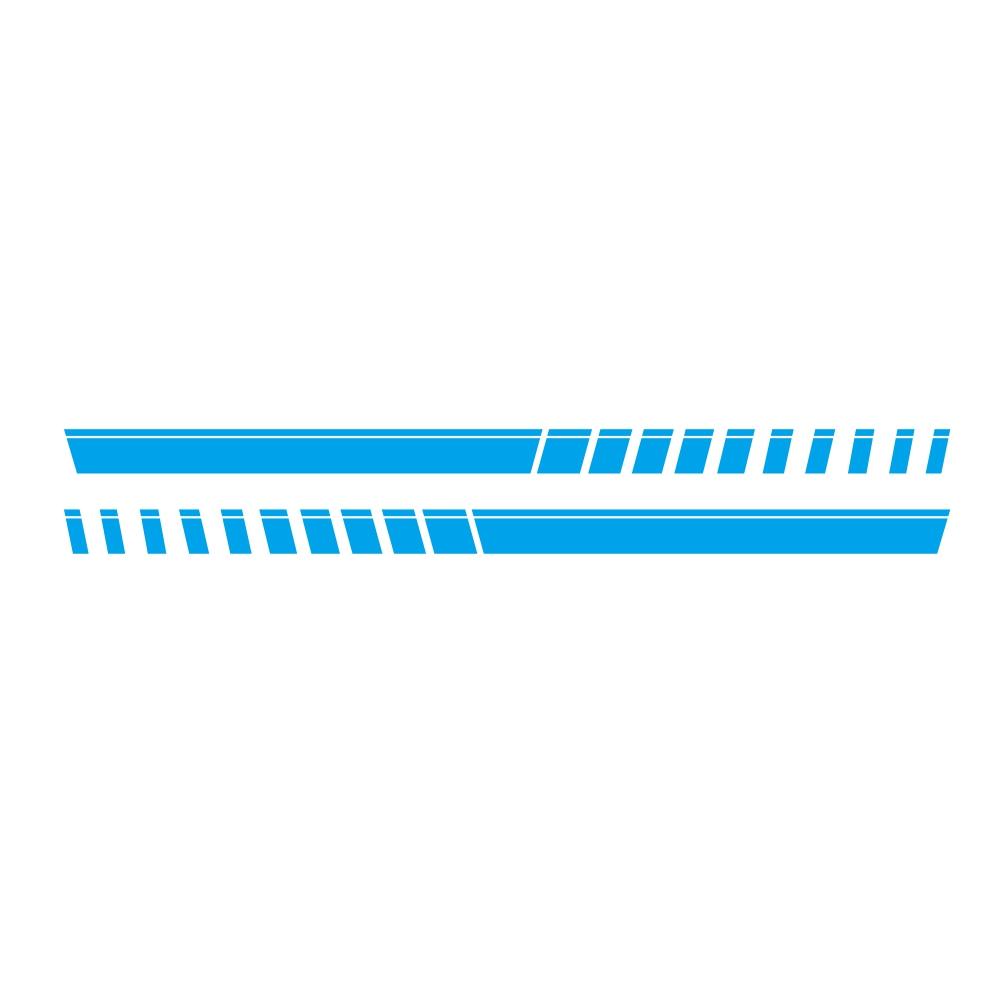 For Pickup Truck Vinyl Decal Sticker Graphics Sport Side Door Stripe Car Sticker  blue