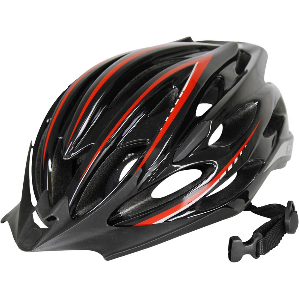 Breathable MTB Bike Bicycle Helmet Protective Gear Black red_Universal
